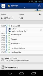 metronom FahrPlaner- screenshot thumbnail