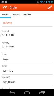 MOBIZY - screenshot thumbnail