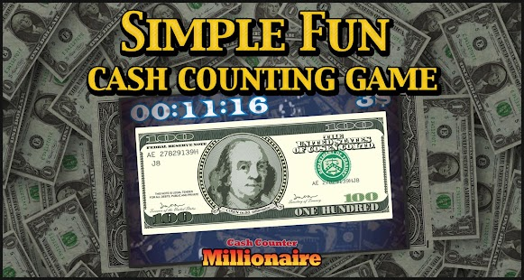 Millionaire Money Counting- screenshot thumbnail