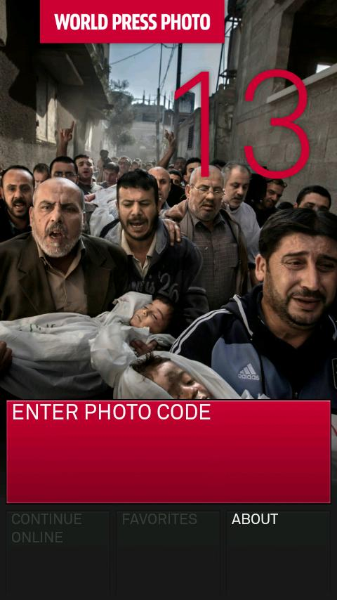2013 World Press Photo Exhibit - screenshot