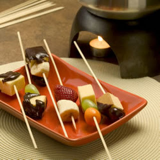 Totally Groovy Chocolate Fondue.
