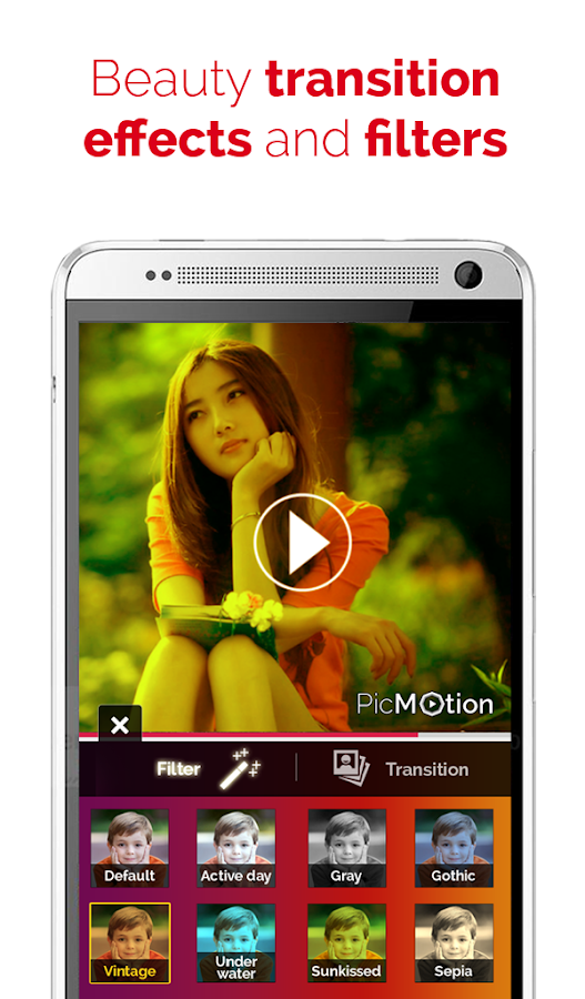 PicMotion - photo video slide- screenshot