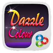 Dazzle Colour GOLauncher Theme