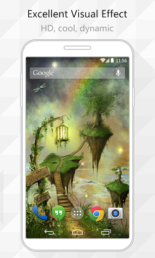 Float Tree Live Wallpaper