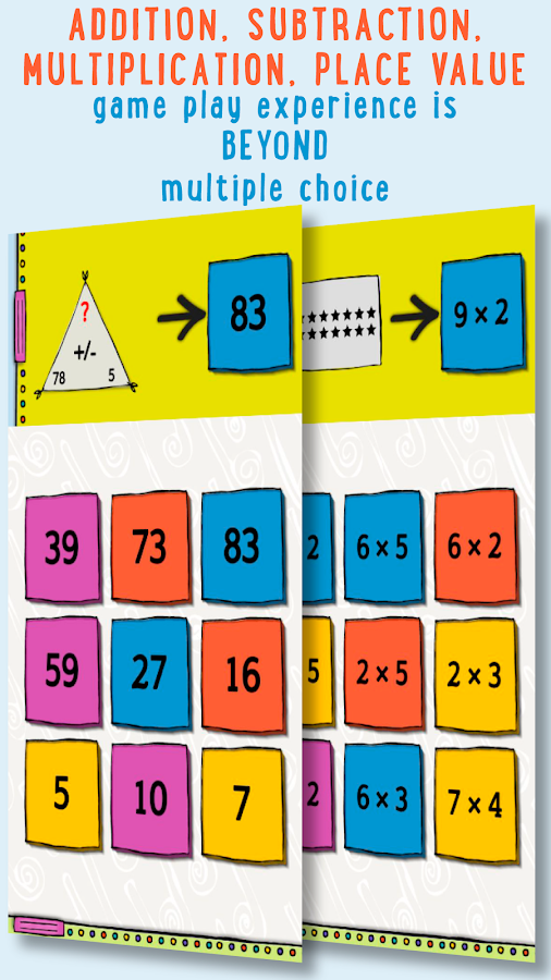 Beyond Cats! Grade 2 Math- screenshot