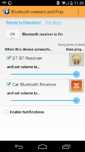 Bluetooth connect & Play - screenshot thumbnail