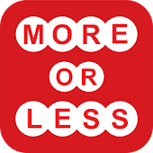 More or Less - What's Your No.
