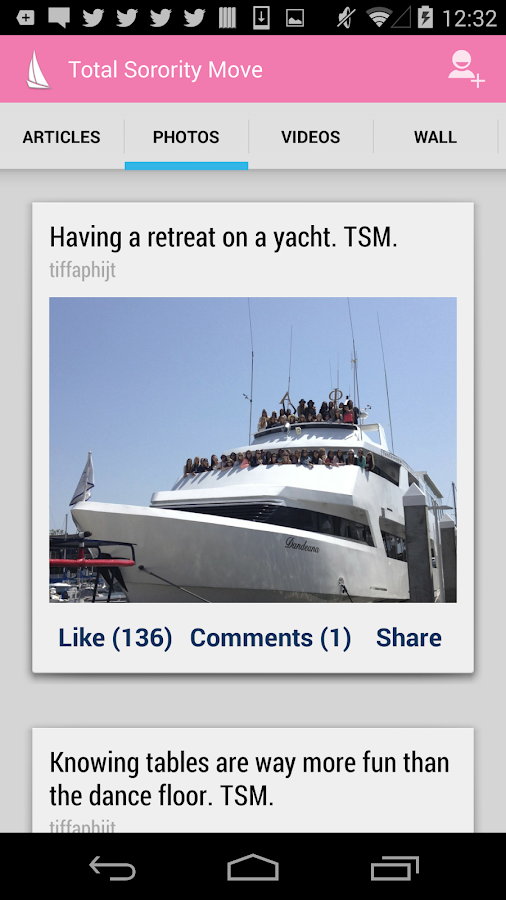 TSM - Total Sorority Move- screenshot