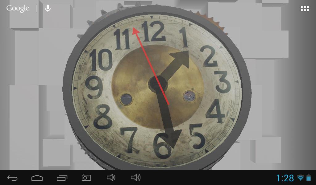 3d clock wallpaper - photo #43