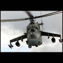 Great helicopters : MI-24 HIND logo