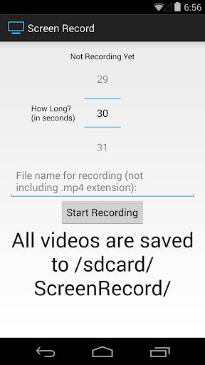 Screen Record for KitKat+