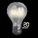 Lamp Design Battery Widget icon