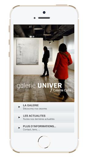 Galerie Univer Colette Colla