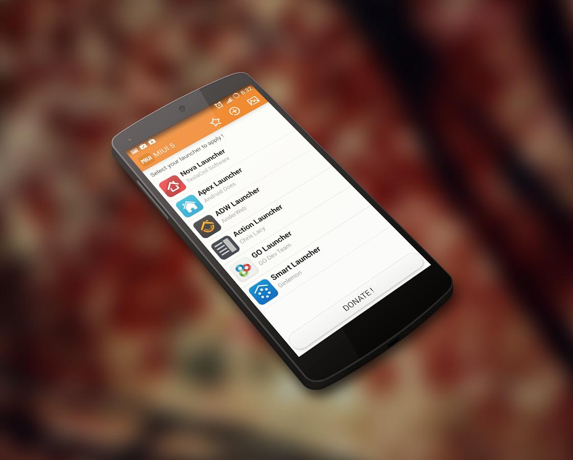 MIUI 5 - Launcher Theme - screenshot