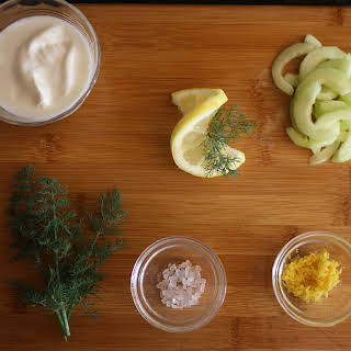 Zesty Cucumber Yogurt Dip.