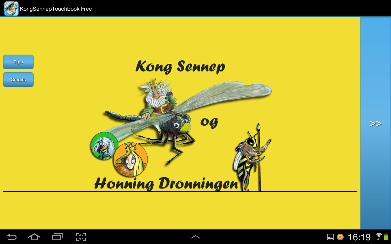 Kong Sennep Touchbook Free- screenshot