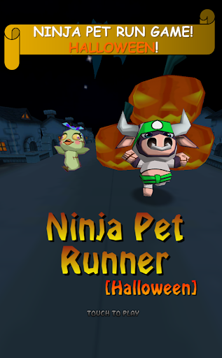 Ninja Animal Runner -Halloween