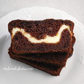 Chocolate Zucchini Bread with Cream Cheese Filling Recipe