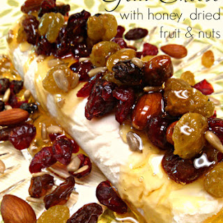 Goat Cheese with Honey, Dried Fruit & Nuts