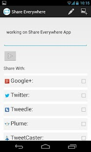 Share Everywhere - screenshot thumbnail