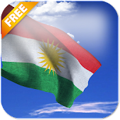 3D Kurdistan Flag LWP