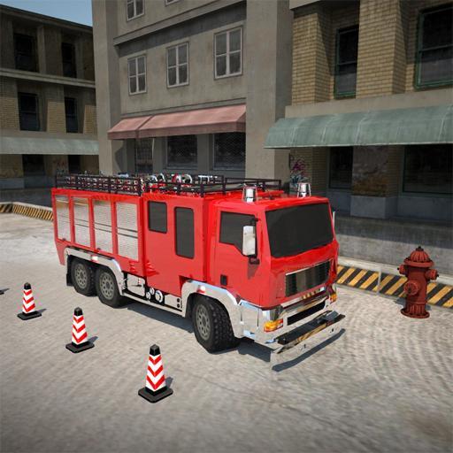 消防貨車停車3D top parking game 模擬 App LOGO-硬是要APP