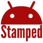Stamped Red Icons