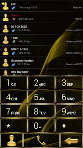 Dialer MetalGate Gold theme v1.0