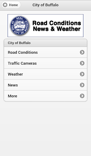 Buffalo Road Conditions