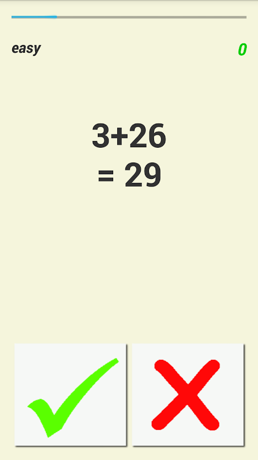 Fun Math - Right or Wrong- screenshot