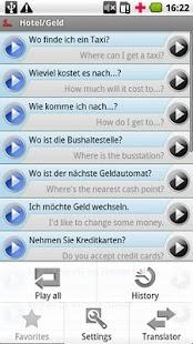 iSayHello German - English- screenshot thumbnail