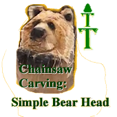 How-To Carve: Simple Bear Head