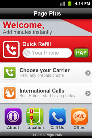 Page Plus Cellular Refill's