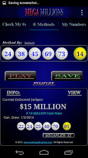 Mega Millions APP - screenshot thumbnail