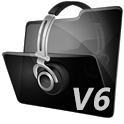 Mp3 search and download V6 icon