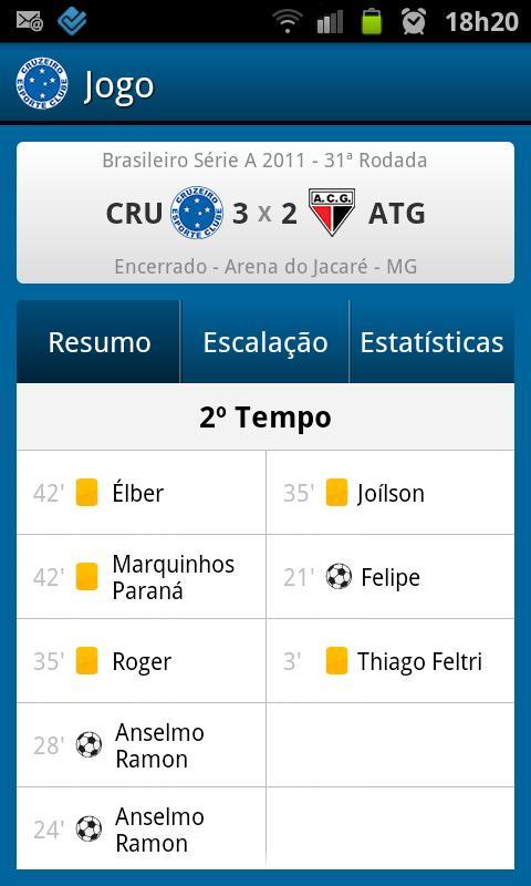 Cruzeiro SporTV - screenshot