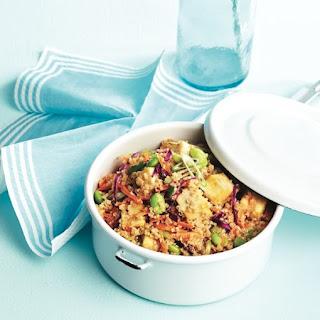 Thai Tofu-quinoa Bowl.