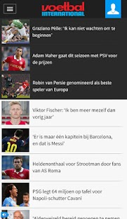 Voetbal International - screenshot thumbnail
