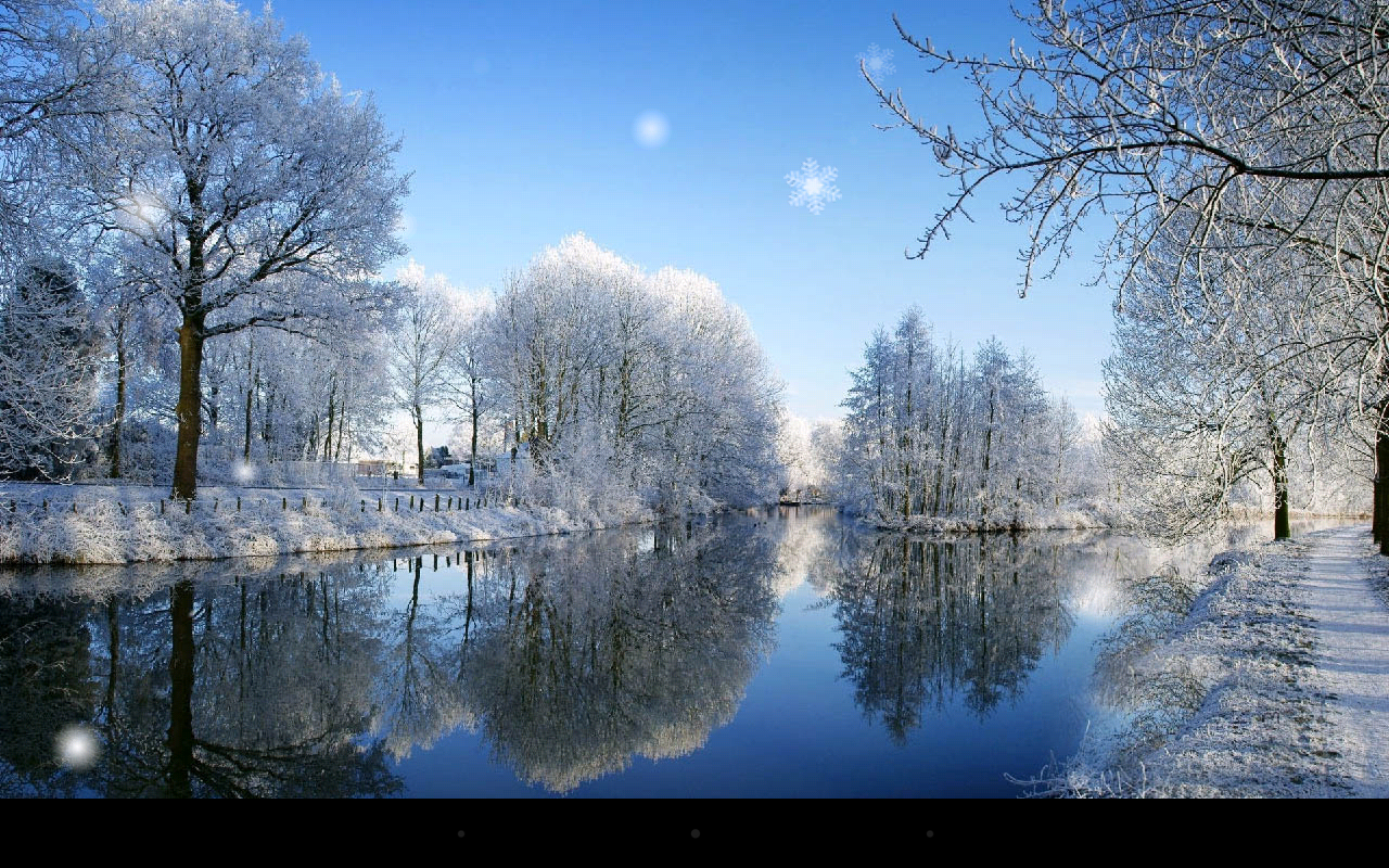Snow Season Live Wallpaper Screenshot