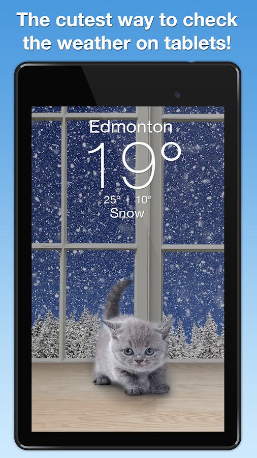 Weather Kitty- screenshot