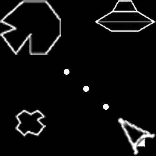 Asteroids Clone Space Shooter LOGO-APP點子