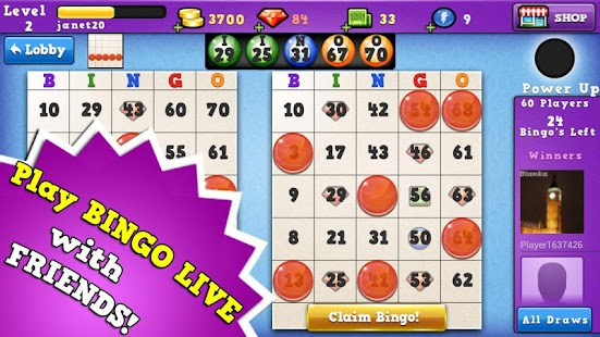 Bingo Run - FREE BINGO GAME - screenshot thumbnail