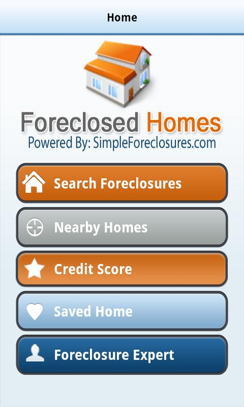 Foreclosures - screenshot