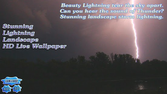 Stunning Lightning Landscape- screenshot thumbnail