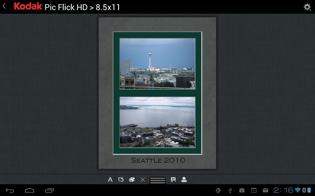 KODAK Pic Flick HD- screenshot