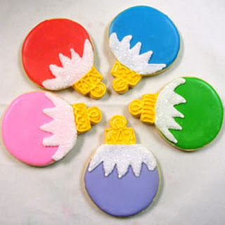 Christmas Ornament Cookies
