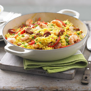 Lemony Prawn & Chorizo Rice Pot Recipe
