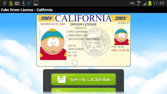 fake driving licence template - blog archives africaposts