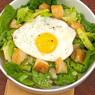 Sunny Side Up Caesar Salad