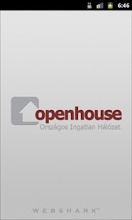Openhouse Ingatlan- screenshot thumbnail